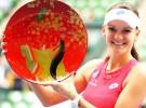 WTA Tokyo 2015: Radwanska vence a Bencic en la final