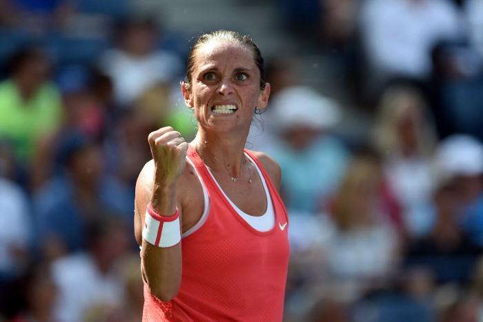 Roberta Vinci -  Kristina Mladenovic Women's Singles Quarterfinal