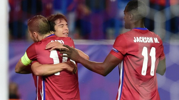 El Atlético goleó al Astana kazajo