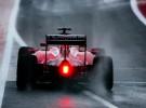 GP de Estados Unidos 2015 de Fórmula 1: Rosberg es el más rápido de unos libres marcados por la lluvia