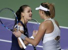 Masters de Singapur 2015: Radwanska y Kvitova jugarán las final tras derrotar a Muguruza y Sharapova
