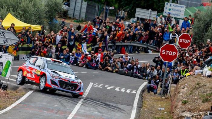 Hyundai en el Rally de España-Catalunya