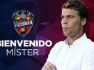 El Levante anuncia a Rubi como su nuevo entrenador