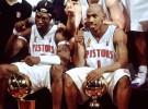 Chancey Billups y Ben Wallace, leyendas de los Detroit Pistons