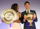 Novak Djokovic y Serena Williams, campeones mundiales de la ITF por cuarto año consecutivo