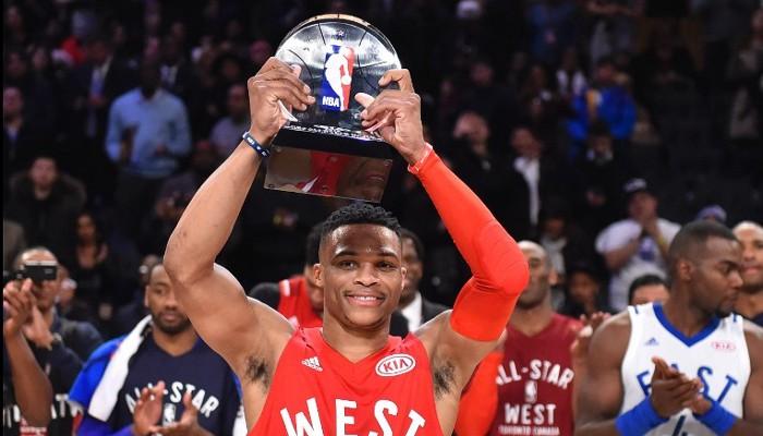 Westbrook repite como MVP del All Star