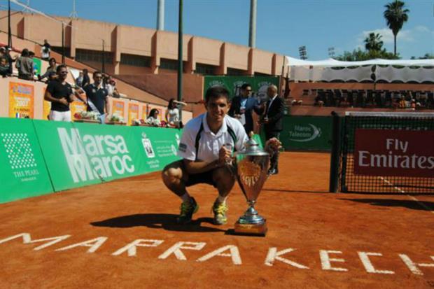 Delbonis campeón en Marrakech