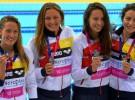 Nueve medallas para España en los Europeos de natación de 2016
