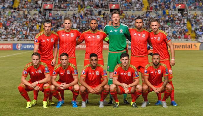 Gales juega por primera vez en la Eurocopa