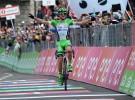 Giro de Italia 2016: victoria para el joven Ciccone y liderato para Jungels