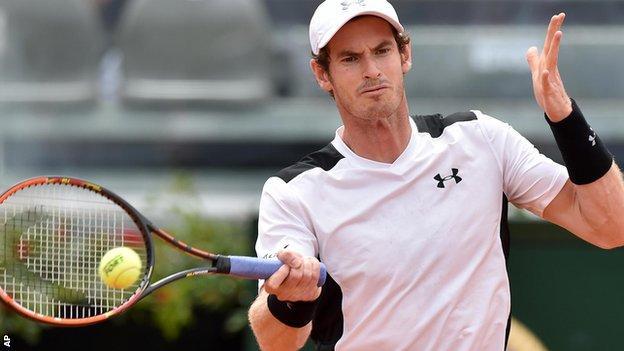 Murray avanza a cuartos en Roma