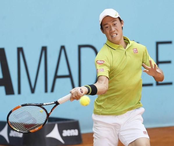 Nishikori a semifinales en Madrid