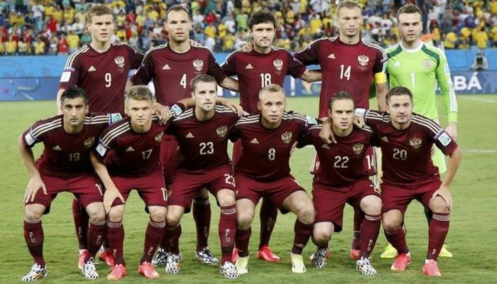 Rusia se presenta con un equipo plagado de jugadores del campeonato nacional