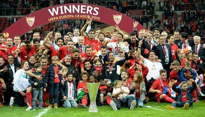 Sevilla campeón por quinta vez de la Europa League