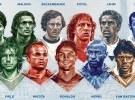 Puyol e Iniesta en el Once Ideal de la historia de la Eurocopa