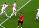 Eurocopa 2016: victorias para Suiza y Gales en el segundo día de competición