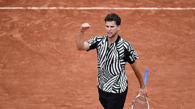 Thiem nuevo top ten en Roland Garros