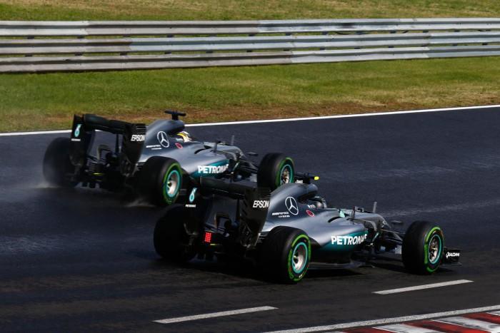 GP de Hungria - Mercedes