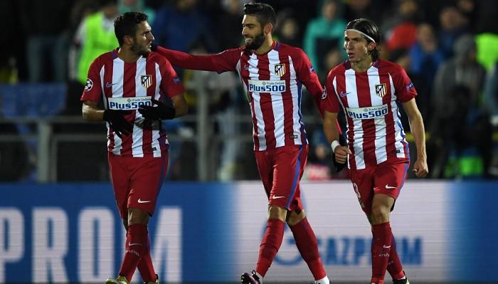 El Atlético consiguió la victoria en Rostov