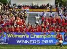 España se alza con el Campeonato de Europa de rugby femenino