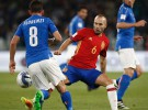 Clasificación Mundial 2018: España e Italia empatan a uno en Turín