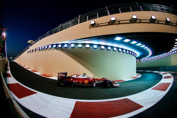 Ferrari en Yas Marina