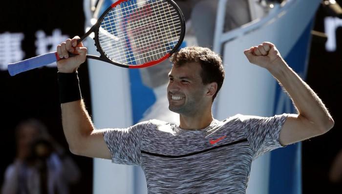 Dimitrov a semifinales en Australia