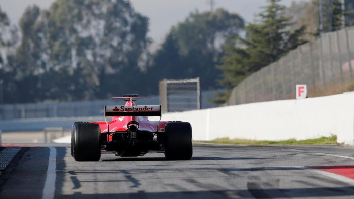 Raikkonen ha sido el piloto más rápido de la pretemporada