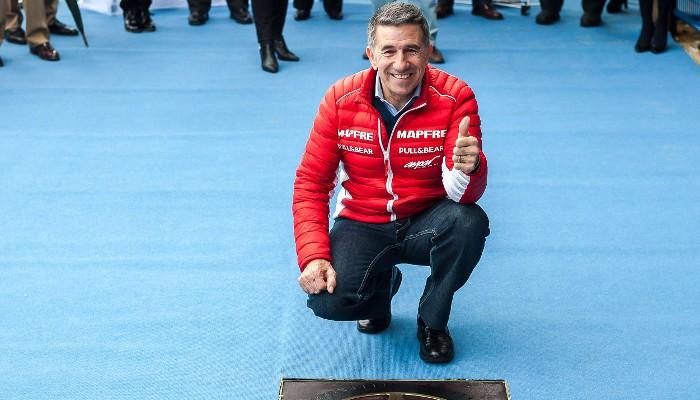 Aspar fue el primer piloto español en ganar en el Circuito de Jerez