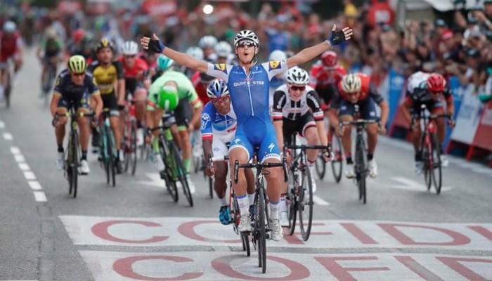 Trentin ha ganado cuatro etapas en la Vuelta a España 2017