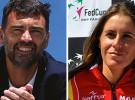 Sergi Bruguera y Anabel Medina, nuevos capitantes del tenis español