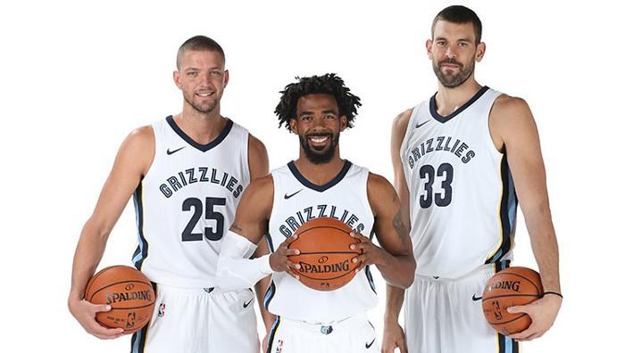 Parsons, Conley y Gasol son los líderes de los Grizzlies