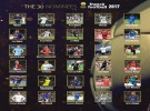 France Football anuncia los 30 nominados al Balón de Oro 2017