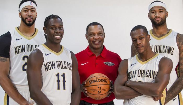 Los Pelicans tienen una de las mejores parejas interiores de la liga