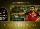 El egipcio Mohamed Salah se lleva el premio al mejor futbolista africano del año 2018