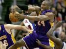 Décima victoria consecutiva de los Lakers