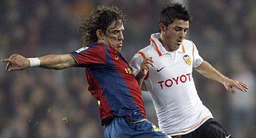 Barcelona y Valencia empatan en la semifinal de la Copa del Rey