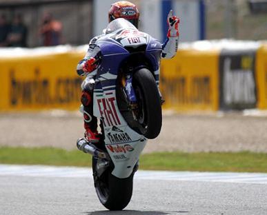 Jorge Lorenzo consigue la pole en Jerez