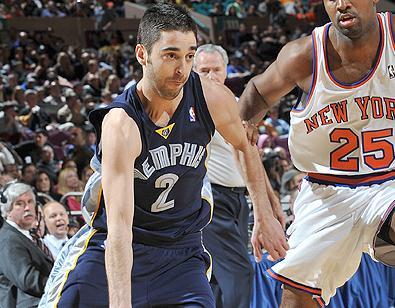 Navarro en la victoria de Memphis ante los Knicks