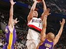 Los Lakers caen ante Portland Trail Blazers