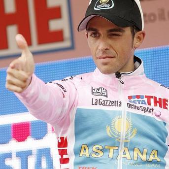Alberto Contador se coloca lider en el Giro de Italia