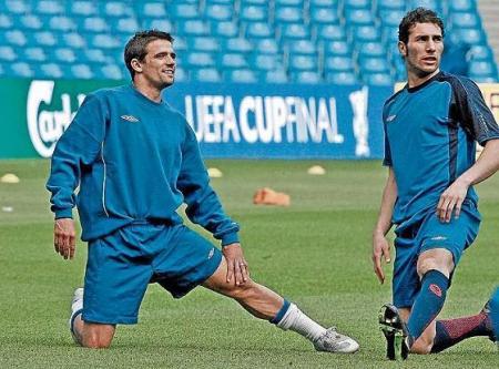 Novo y Cuellar, dos futbolistas españoles que triunfan en Escocia con el Glasgow Rangers
