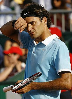 Federer cae eliminado en cuartos de final de Roma ante Stepanek