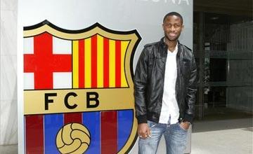 Keita jugara en el Barça