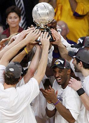 Los Lakers, Campeones de la Conferencia Oeste tras derrotar a los Spurs
