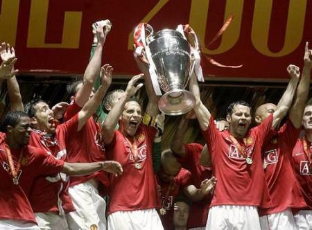 Manchester United, Campeon de Europa 2008