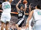 Los Spurs serán el rival de los Lakers tras eliminar a los Hornets