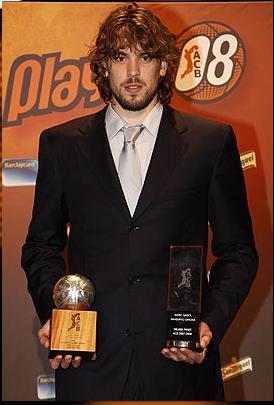 Marc Gasol, elegido MVP de la Liga ACB