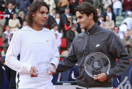 Rafa Nadal vencio a Roger Federer en la Final del Torneo de Hamburgo