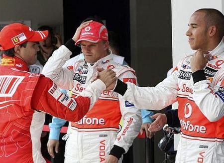 Massa consigue la pole en Turquia seguido por Kovalainen y Hamilton